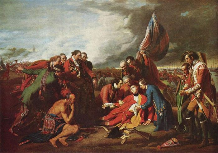Death of General Wolfe, by Benjamin West