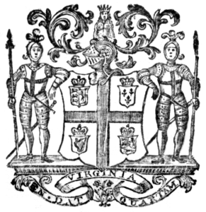 Virginia Colony Coat of Arms