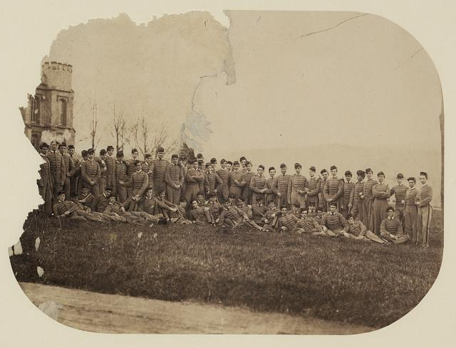 Civil War era Military Academy Cadets