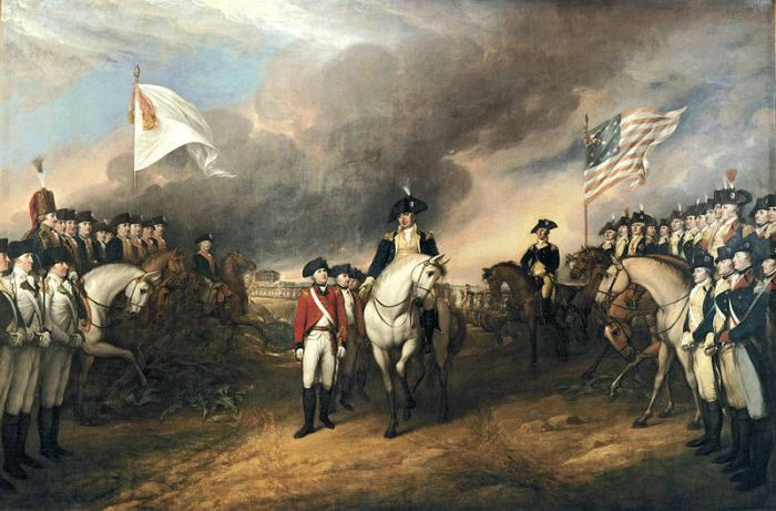 Surrender of Lord Cornwallis By John Trumbull