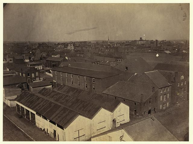 Alexandria from Pioneer Mill, looking north-west (1865)