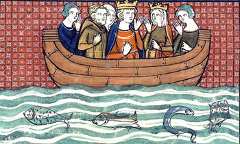 Richard the Lionheart at sea