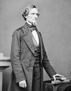 Jefferson Davis, photographed by Mathew Brady