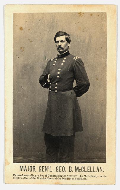General George McClellan.