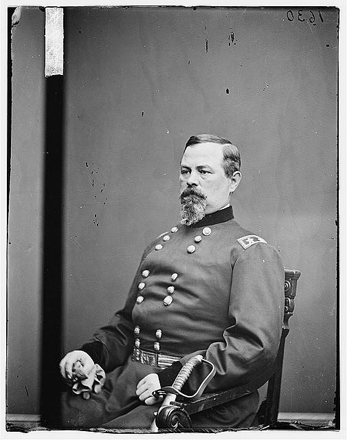 General Irvin McDowell led Union forces against the fledgling Confederate army at First Mananas.